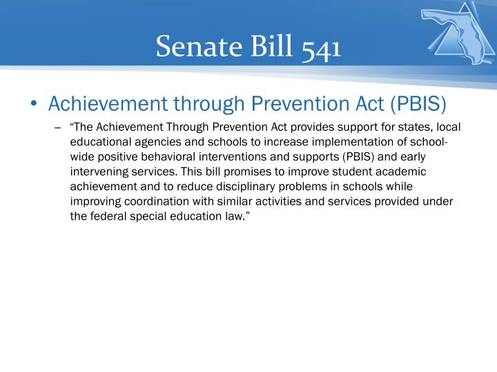 Senate Bill 541