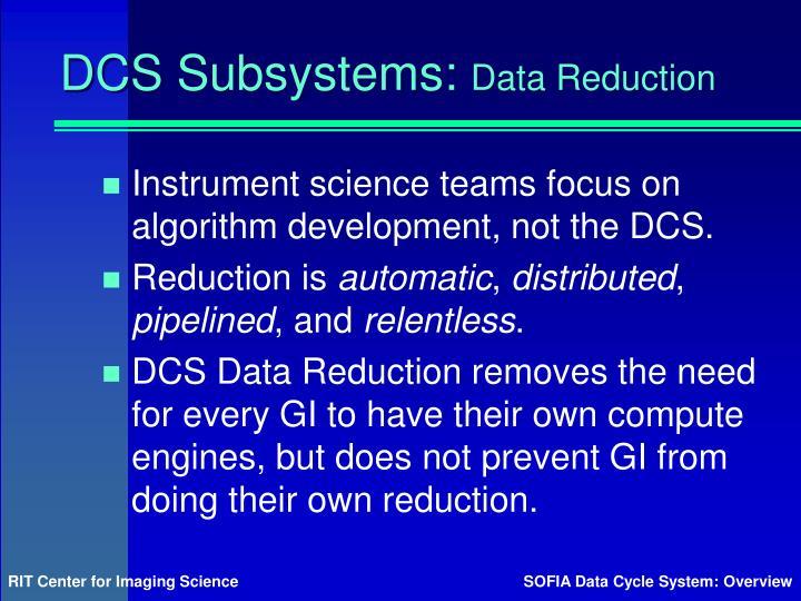 DCS Subsystems: