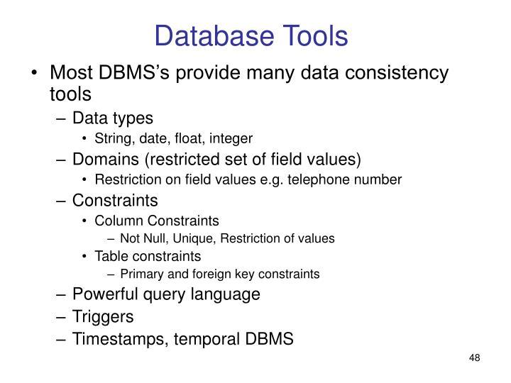 Database Tools