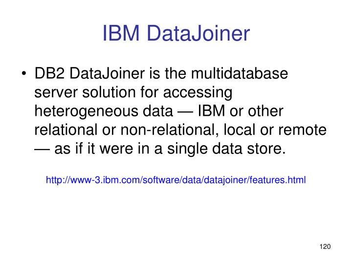 IBM DataJoiner