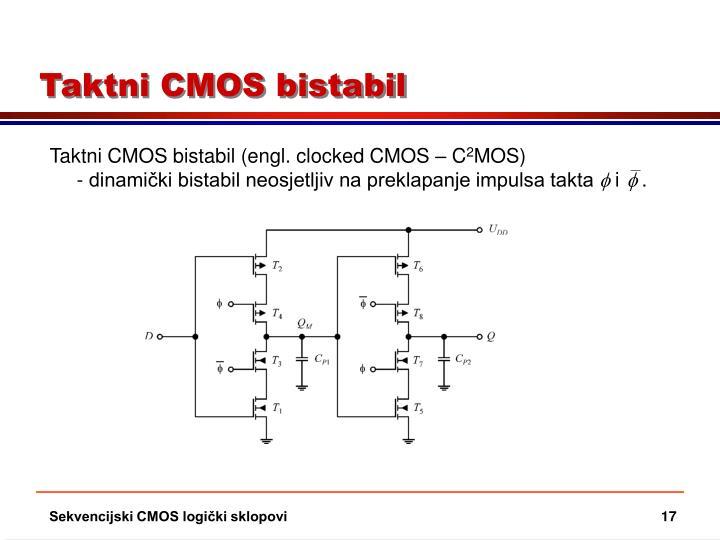 Taktni CMOS bistabil