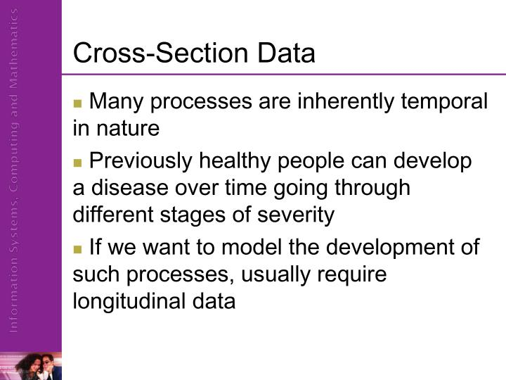 Cross-Section Data