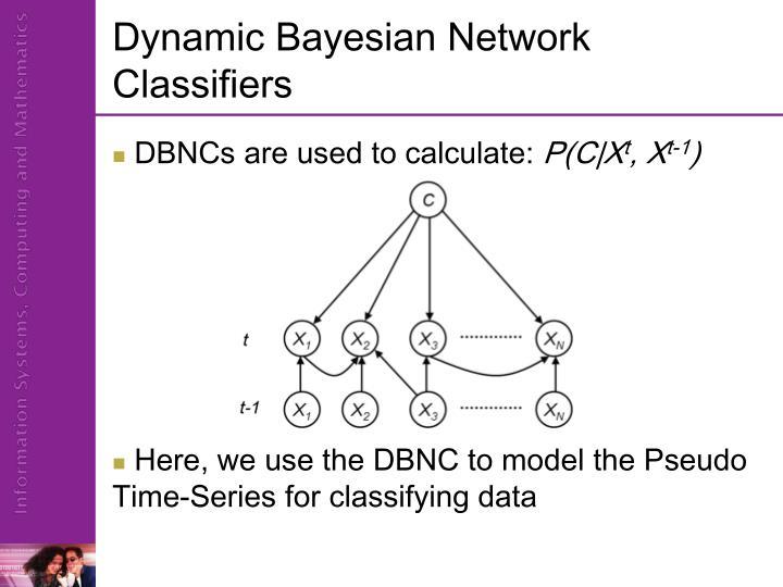 Dynamic Bayesian Network Classifiers