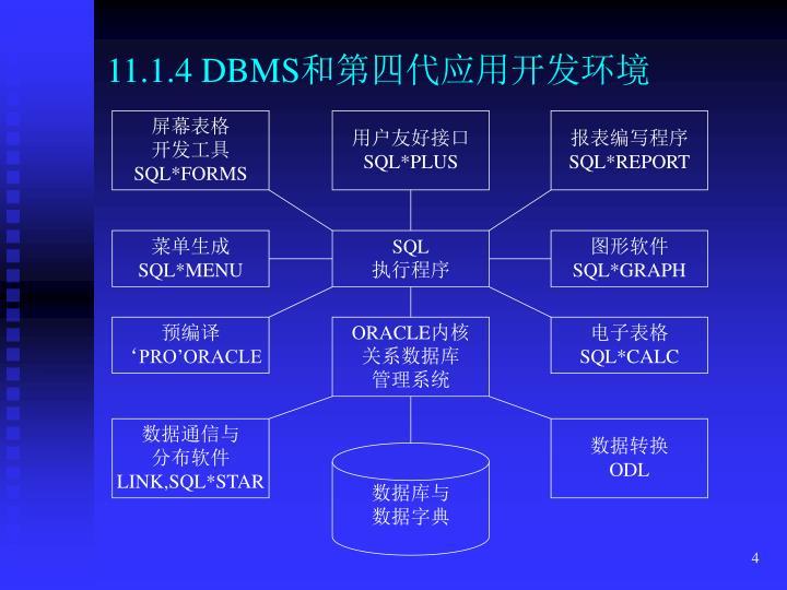11.1.4 DBMS
