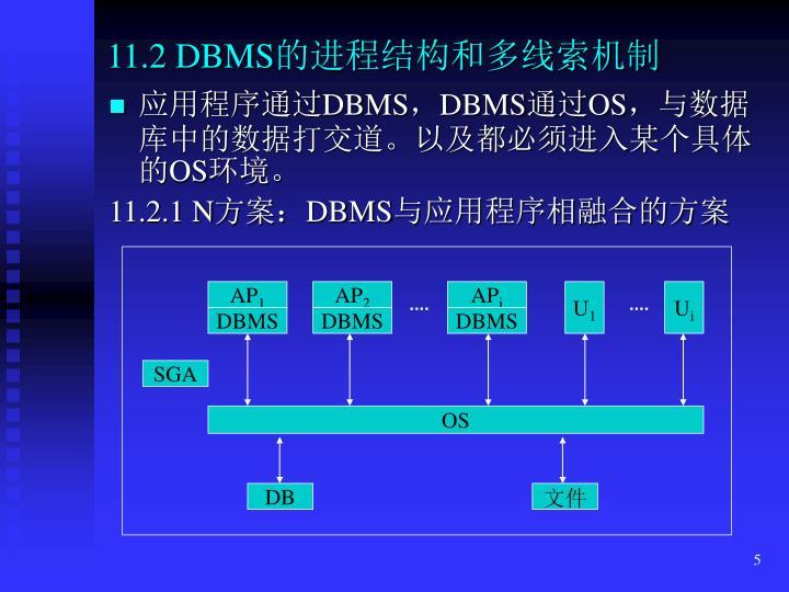 11.2 DBMS