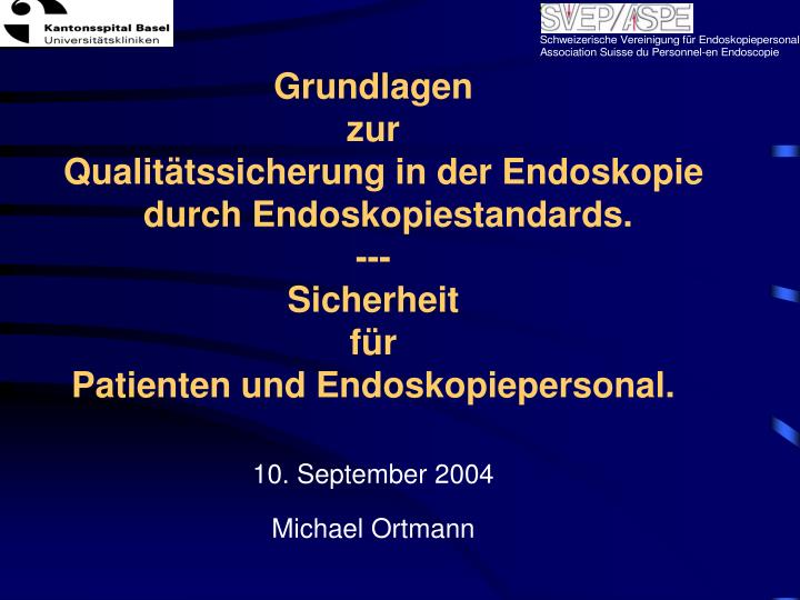 10 september 2004 michael ortmann