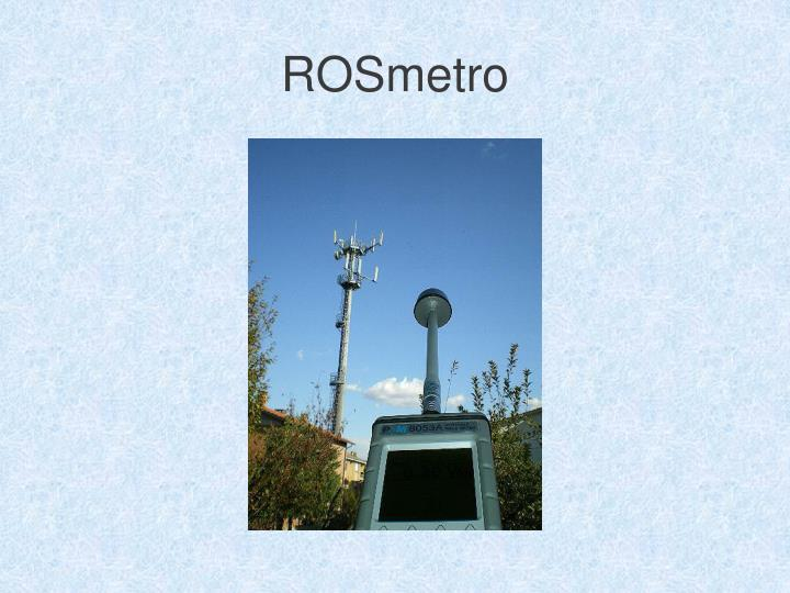 ROSmetro