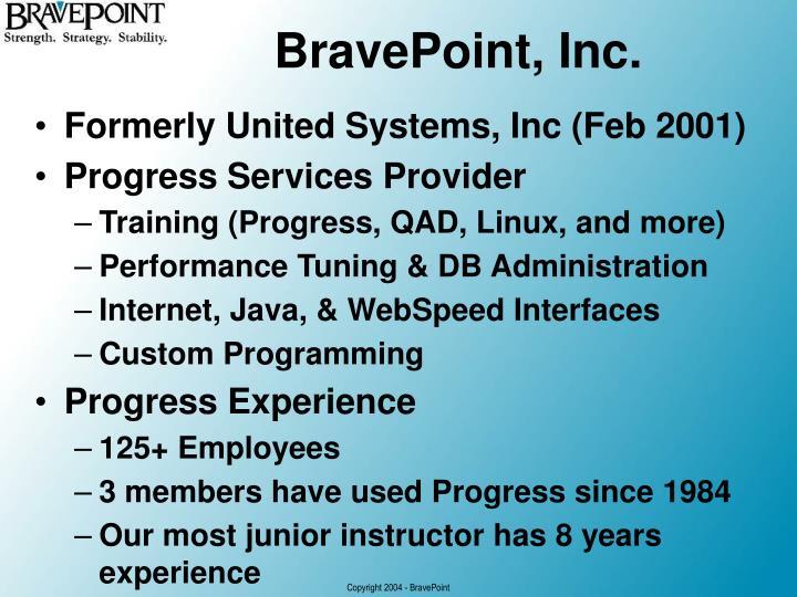 BravePoint, Inc.