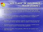 red flags of insurance fraud contd2