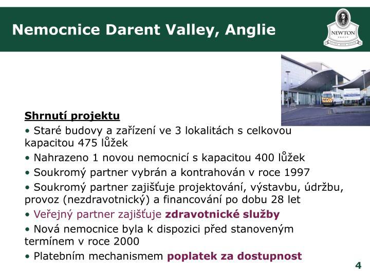 Nemocnice Darent Valley, Anglie