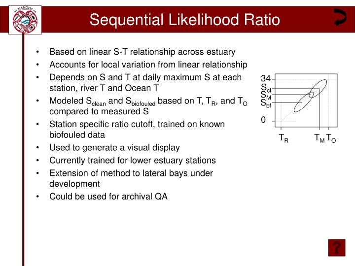 Sequential Likelihood Ratio