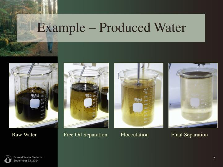 Free Oil Separation