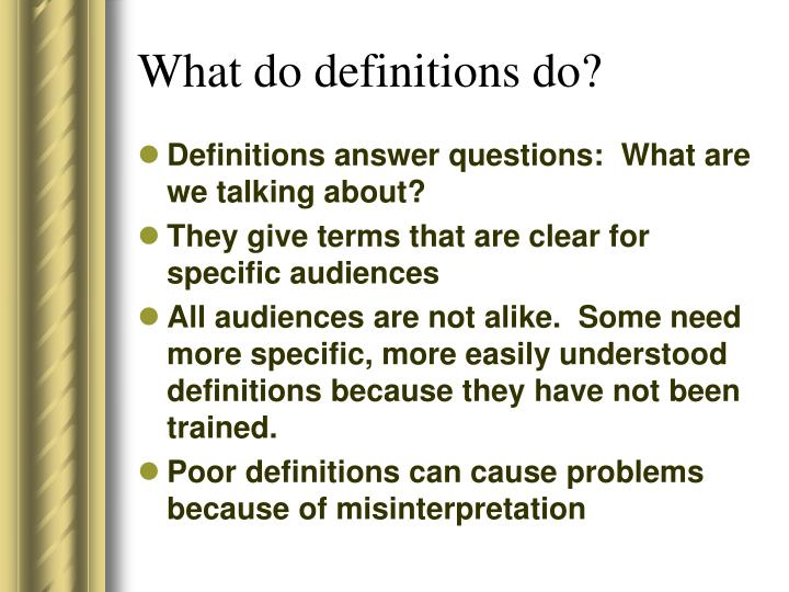 Definition essay ppt