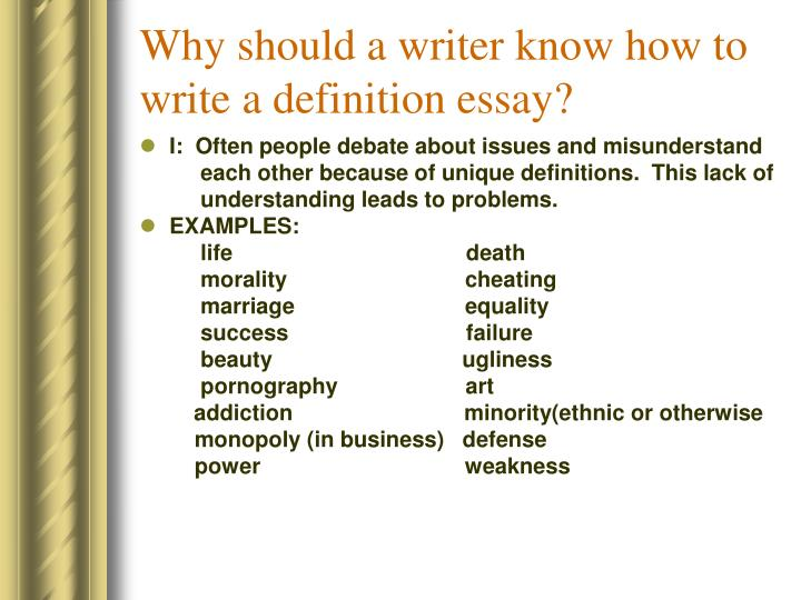 familiar essay definition This list of 250 subjects for familiar essays originally appeared as an appendix to essays and essay-writing, an anthology edited by william m tanner and published by the atlantic monthly.