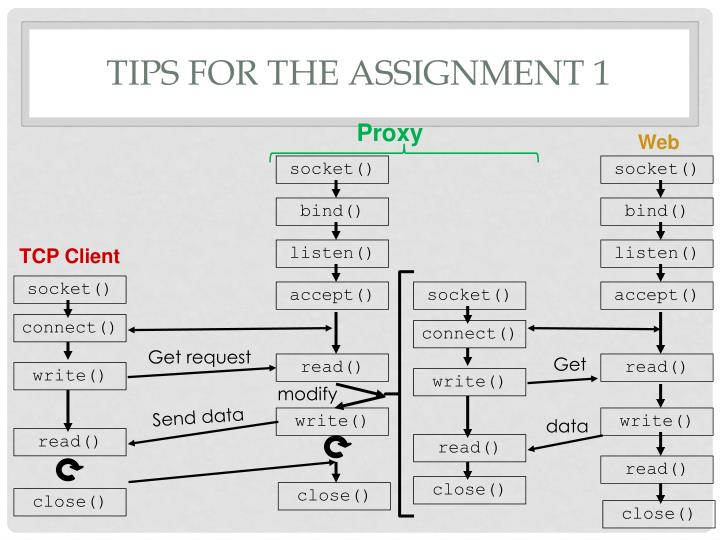 Tips for the assignment 1