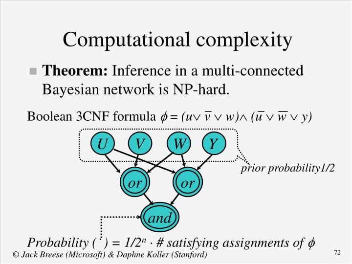 Boolean 3CNF formula