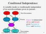 conditional independence1