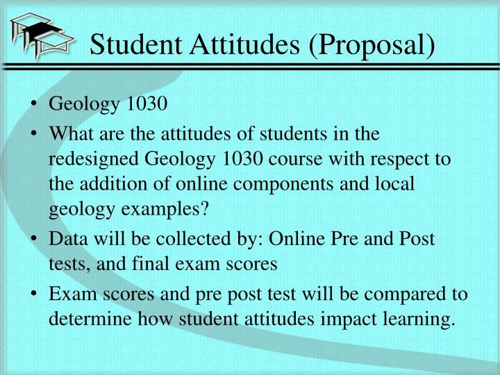 Student Attitudes (Proposal)