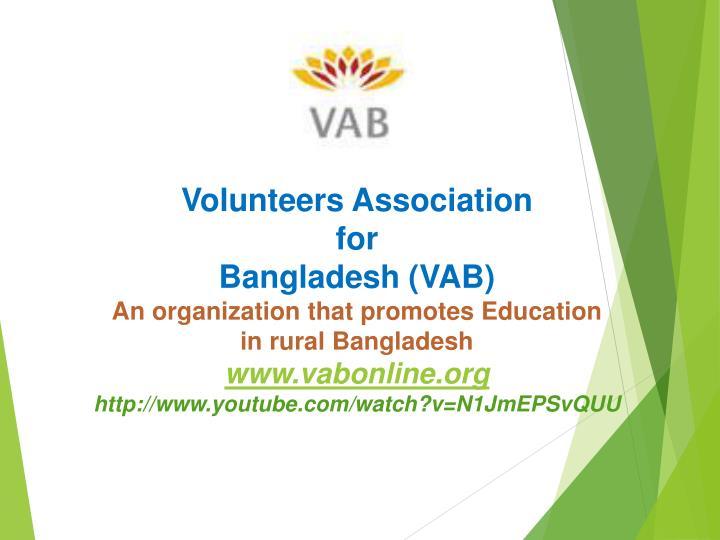 Volunteers Association