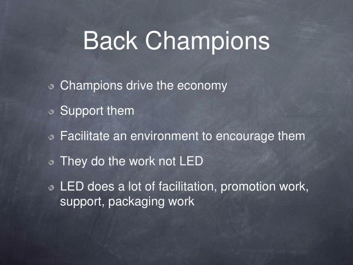 Back Champions