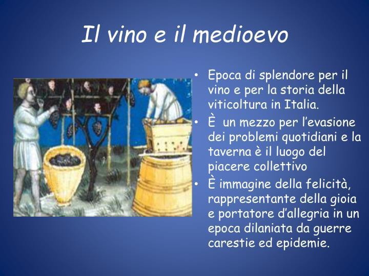 Il vino e il medioevo