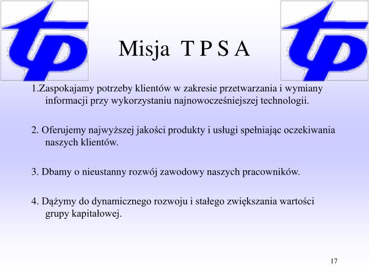 Misja  T P S A