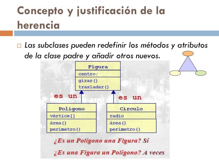 Concepto y justificación de la herencia