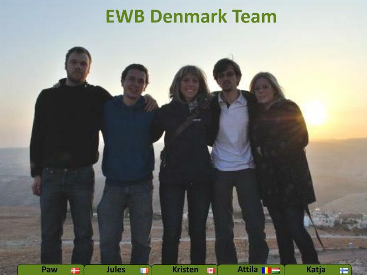 EWB Denmark Team