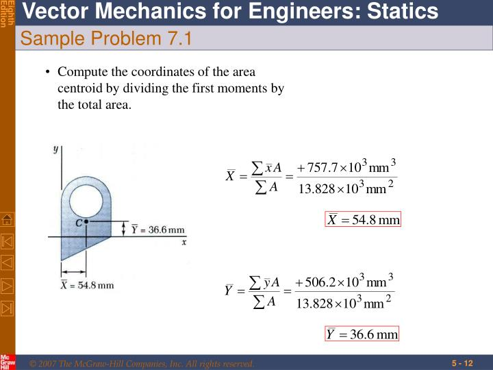 Sample Problem 7.1