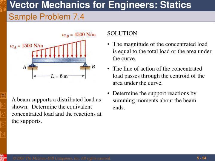 Sample Problem 7.4