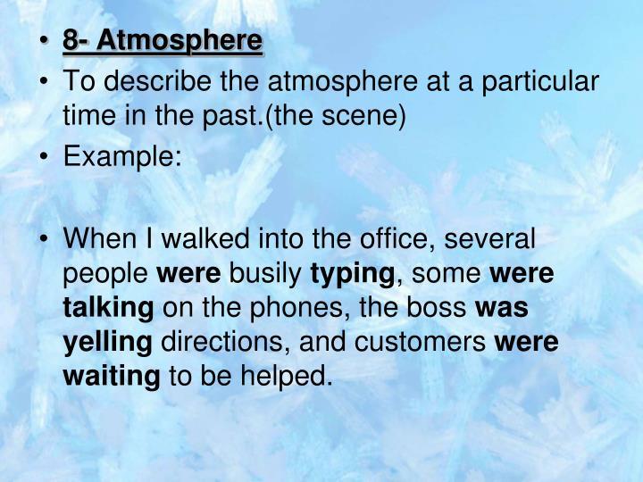 8- Atmosphere