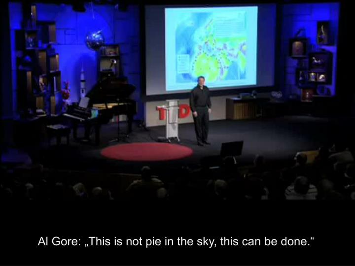 "Al Gore: ""This is not pie in the sky, this can be done."""
