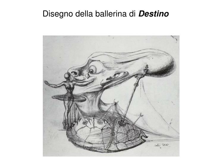 Disegno della ballerina di
