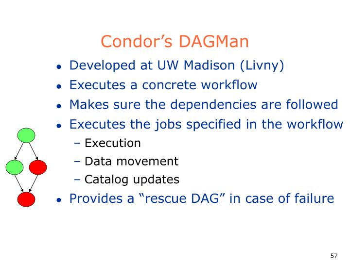 Condor's DAGMan