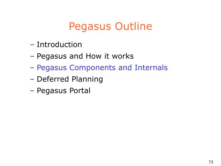 Pegasus Outline