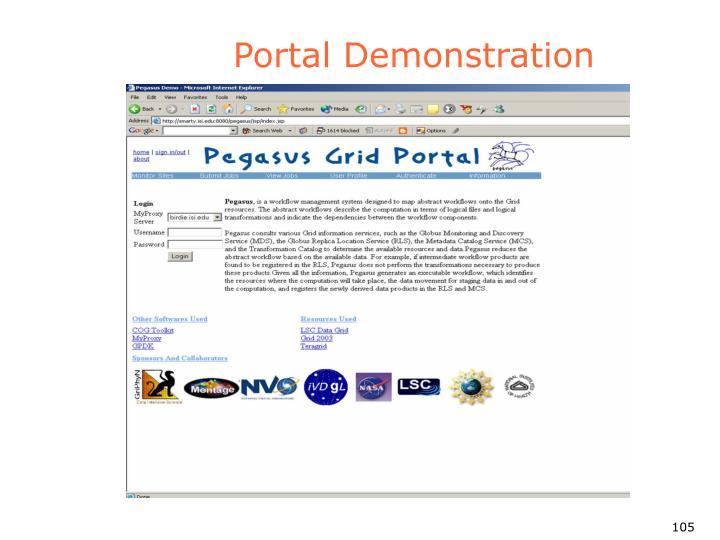 Portal Demonstration