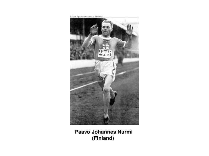 Paavo Johannes Nurmi