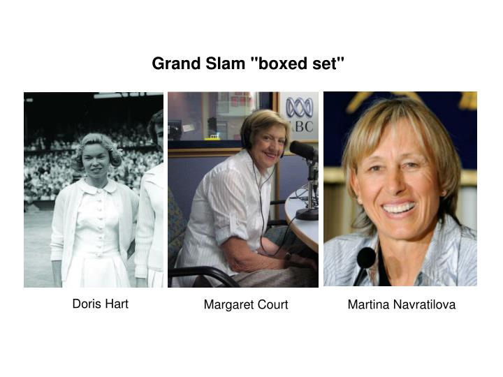 "Grand Slam ""boxed set"""