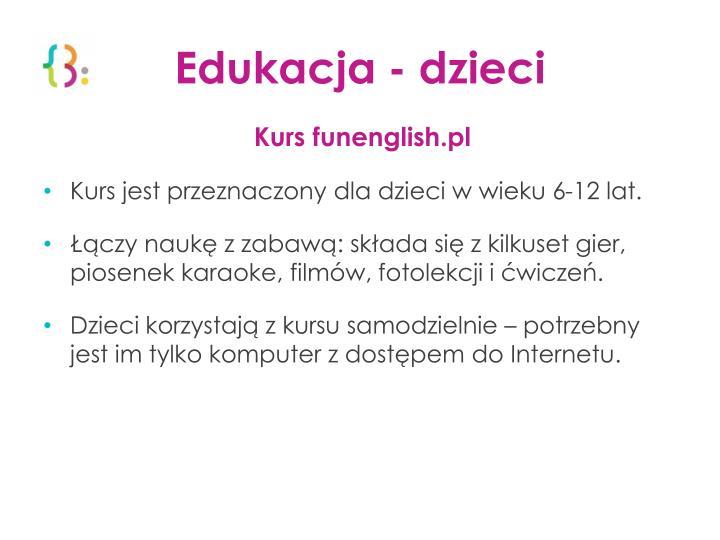 Edukacja - dzieci