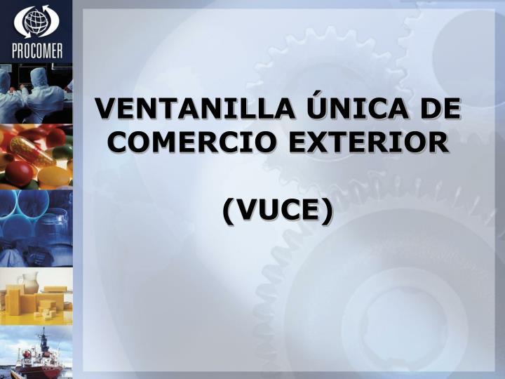 VENTANILLA ÚNICA DE