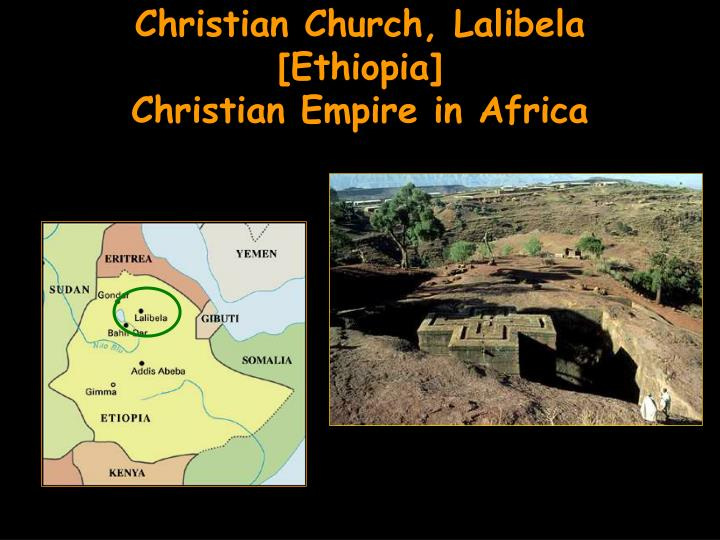 Christian Church, Lalibela