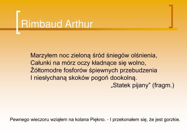Rimbaud Arthur