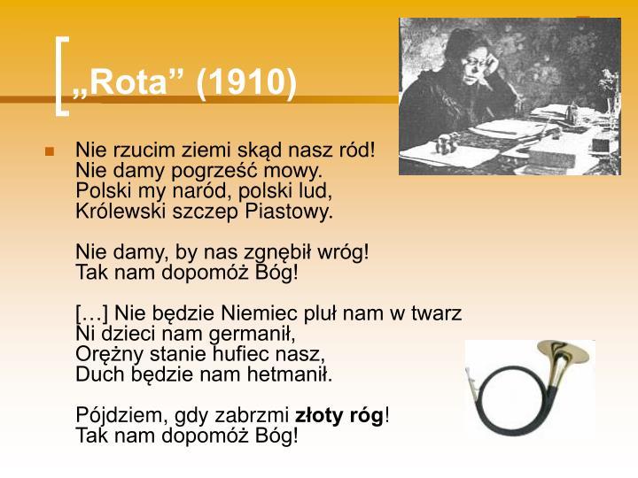 """""""Rota"""" (1910)"""