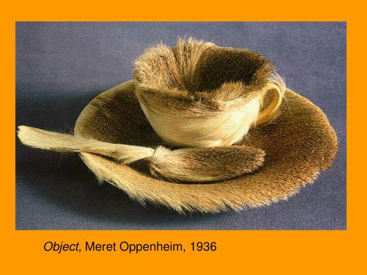 Object, Meret Oppenheim