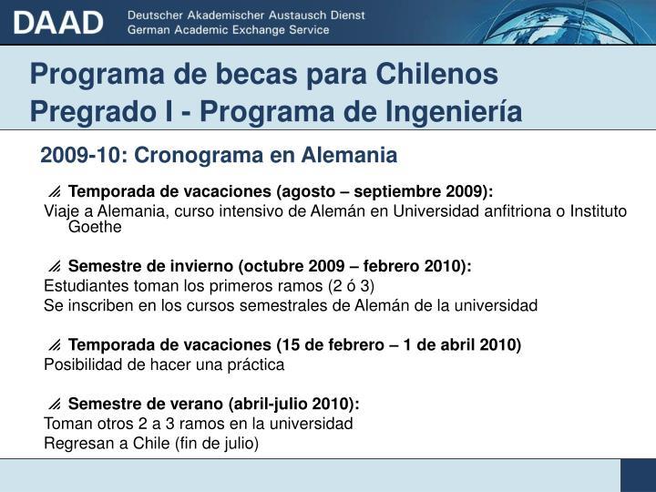 becas en india para chilenos