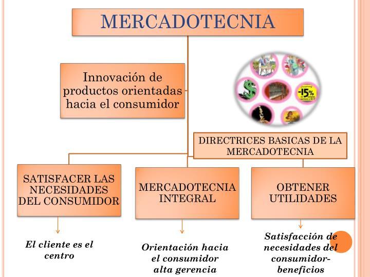 DIRECTRICES BASICAS DE LA MERCADOTECNIA