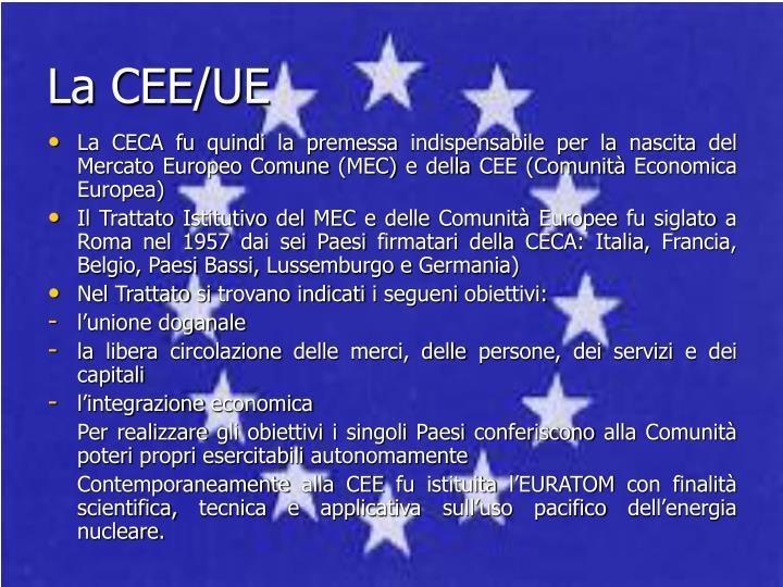 La CEE/UE