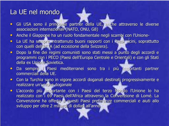 La UE nel mondo