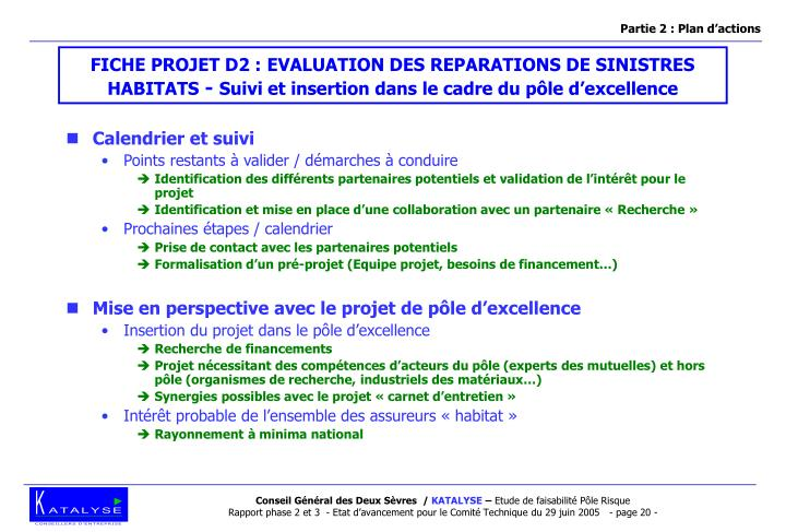 Partie 2 : Plan d'actions