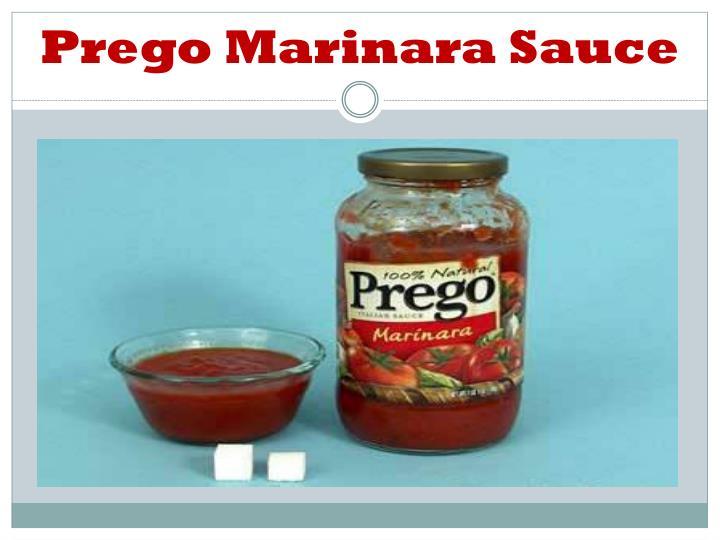 Prego Marinara Sauce